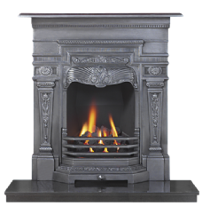 Wensleydale Antique Cast Iron Combination Fireplace